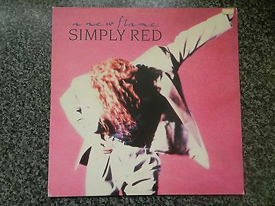 Simply Red A New Flame UK vinyl LP album record WX242 ELEKTRA 1989