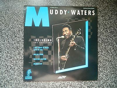 """Muddy Waters - Greatest Hits (12"""" Vinyl LP - Chess Masters SMR850)"""