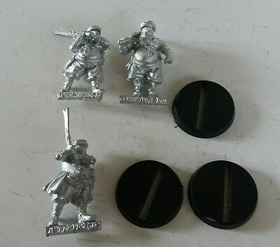 games workshop Lord of the rings metal abrakhan guards