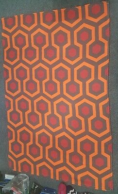 The Shining Overlook Hotel Carpet Polyester Rug  4'x6' Kubrick Rare room 237.NEW