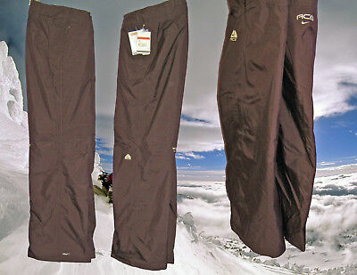 Nike Womens Ladies ACG FIT-STORM THERMORE Ski Trousers Large Brown AUTHENTIC