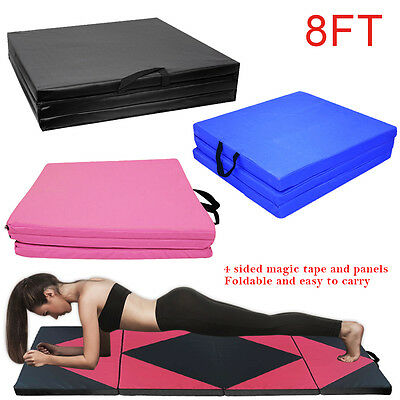 240*120*5CM Folding Gymnastics Tumble Floor Mat Yoga Exercise Fitnes Pilates Gym
