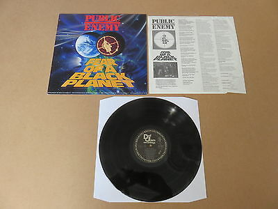 PUBLIC ENEMY Fear Of A Black Planet DEF JAM LP RARE ORIGINAL USA 1ST PRESSING
