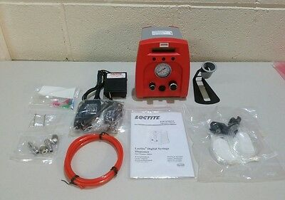 Loctite 98666 All Purpose Pneumatic Digital Syringe Dispenser W/ Accessories (V)
