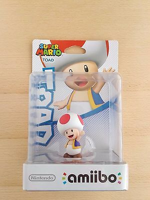 Nintendo Super Mario Collection TOAD Amiibo NEW and SEALED