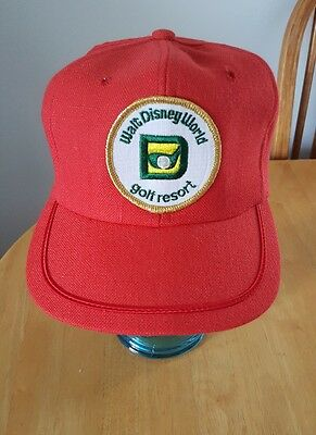 Walt Disney World Golf Resort Hat Cap Vintage Rare 1970's