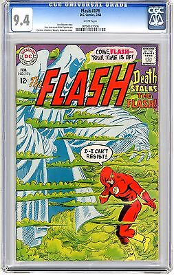 Flash #176  CGC  9.4  NM  white pages