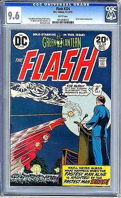 Flash #224  CGC  9.6   NM+   white pages