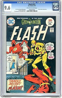 Flash #233  CGC  9.6  NM+   0ff- white to white pages