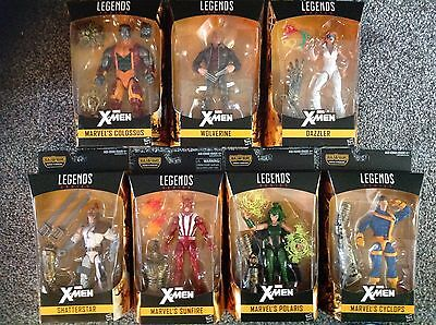 Marvel Legends X-Men Wave 2 - Warlock BAF Series - SET OF 7