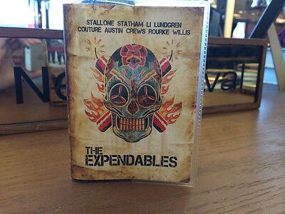 Expendables Jason Statham Stallone Journal Book Notebook Pocket Planner Diary