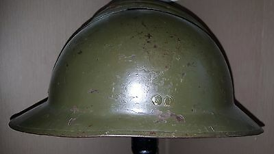 WW2  French Adrian Helmet, Shell Only. FREE POST (Lot1)
