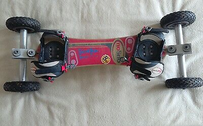 noSno Freestyle-Freeride Mountainboard. POSTAGE AVAILABLE. All terrain board.