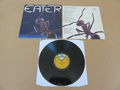 EATER The Album THE LABEL LP RARE 1977 UK ORIGINAL 1ST PRESSING TLRLP001