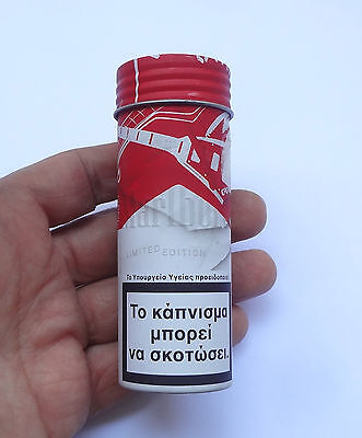 MARLBORO Rolling Tobacco Greek Edition Empty Tin Classic  # Free Shipping
