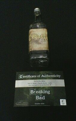 BREAKING BAD Walt & Skylar's Tequila Bottle #2 of 5 ! Screen-Used Prop with COA!
