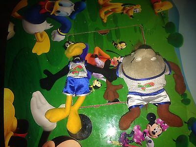 space jam looney tunes plush daffy duck taz