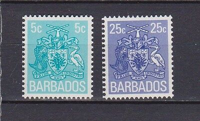 s16788) BARBADOS  MNH** Nuovi** 1975 Definitives 2v