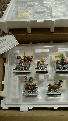 M&M's Christmas Train by The Danbury Mint