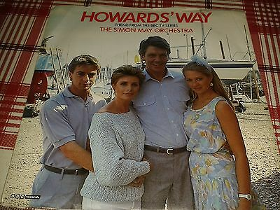 """The Simon May Orchestra - """"Howards' Way"""" 7"""" (1985) EX / Theme From BBC TV Series"""