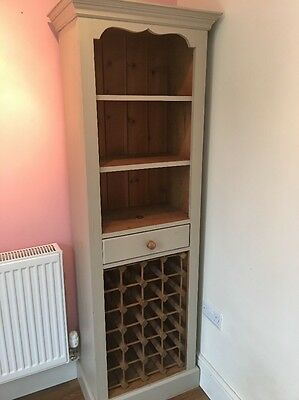 kitchen wine cabinet shelf unit freestanding kitchen wine rack shelf unit part painted 22189