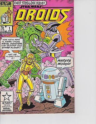 "Droids  #1 (""Star Wars""  FN/VF  7.0) Apr-1986,  Marvel"