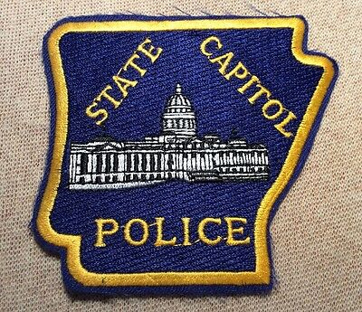 AR Arkansas State Capitol Police Patch
