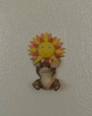 """Charming Tails """"Sunnyside Up"""" Magnet - Club Member Piece - #97/23"""