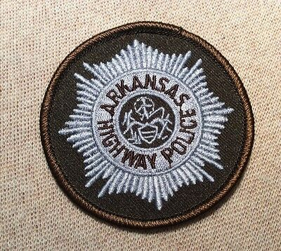 AR Arkansas Highway Police Patch (3In)
