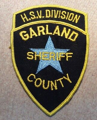 AR Garland County Arkansas H.S.V. Division Sheriff Patch