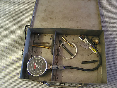 Yamaha vacuum gauge in metal case