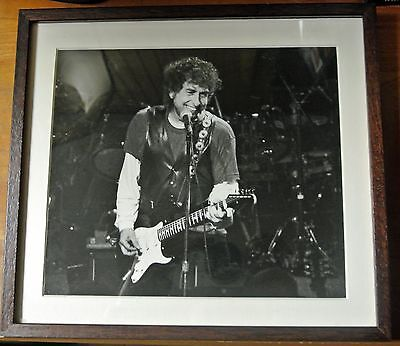 Bob Dylan Original Rare Black & White Photo Toad's Place, New Haven, early 1990s