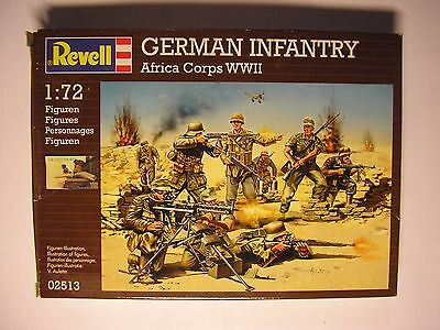 Soldatini toy soldier Revell  Afrtica Corps WWII Ref 02513 Sc.1:72