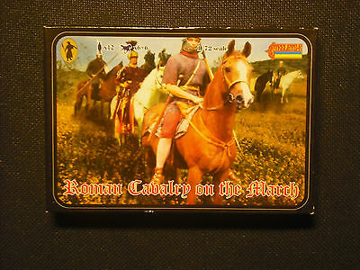 soldatini toy soldiers Strelets-R Roman Cavalry in marcia scala 1:72