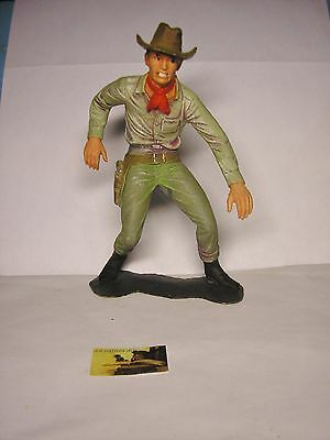 Soldatino Toy Soldier Gigante 2Galli Made in Italy Cowboy plastica cm 14,5