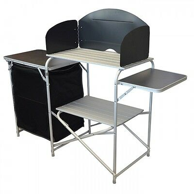 Wild Camping Aluminium Kitchen and Cupboard Outdoor Camping Unit
