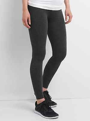 New Gap Maternity Pure Body SMALL full panel  leggings Gray 489058