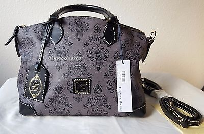 DISNEY Dooney & Bourke Satchel Haunted Mansion Wallpaper Sold-Out! w/Tags