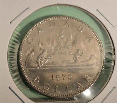 Canada SILVER Dollars - .500  silver - 1971-1981 choose one or more dates