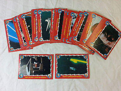 1979 Scanlens Buck Rogers cards – PICK ANY 5 CARDS ONLY