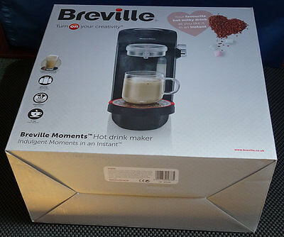 NEW SEALED Breville VCF041 Moments Hot Drinks Maker Chocolate Coffee Cappuccino