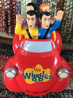 The Wiggles Musical Push Top Wiggle N' Giggle Big Red Car!!! Absolutely Awesome
