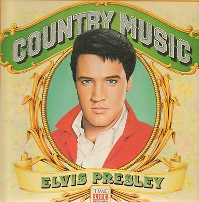 Elvis Presley Country Music Time Life Records Vinyl LP
