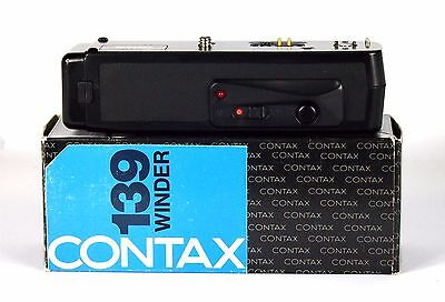 Contax 139 Winder. Fully Functional. Checked And Tested. Original Box And Case.