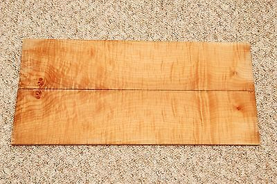 Bookmatched flamed/figured maple wood 535mmx250mmx9mm