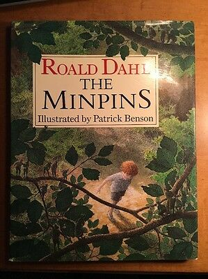 THE MINPINS First Edition Roald Dahl  BFG Charlie Chocolate Factory Author