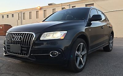 Audi: Q5 TDI Sline + Sport Select Package 2014 Audi Q5 Technik Sline TDI. Top of the line. Excellent condition