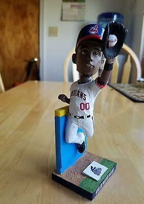 CUSTOM Willie Mays Hayes Cleveland Indians Major League Movie Bobblehead