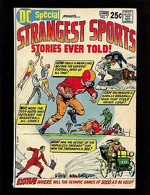 DC Special #7 VGFN Anderson Infantino Strangest Sports Stories Indianapolis 500