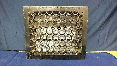 Antique Cast Iron Honey Comb Floor Grate